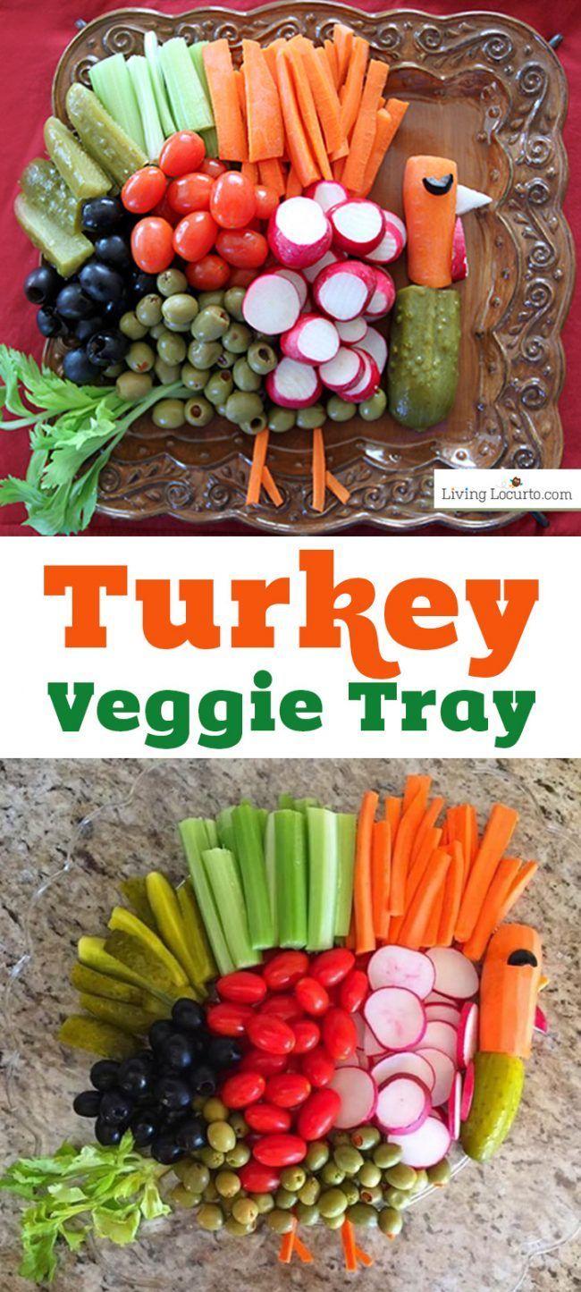 Turkey Vegetable Tray Recipe Turkey veggie tray