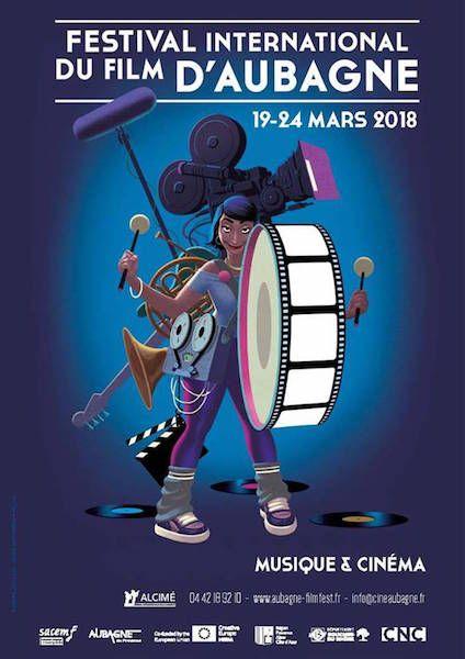 Le programme réjouissant du 18e Festival d'Aubagne (musique et cinéma). CineChronicle sera présent!