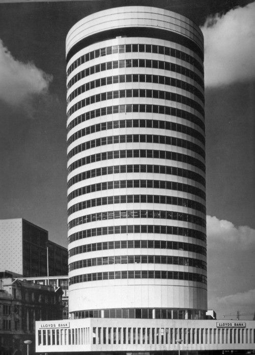 My All Time Favorite building in Birmingham  the Rotunda, Birmingham, James. A. Roberts, 1965