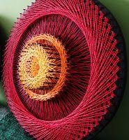 Aline Campbell: string art   mandalas