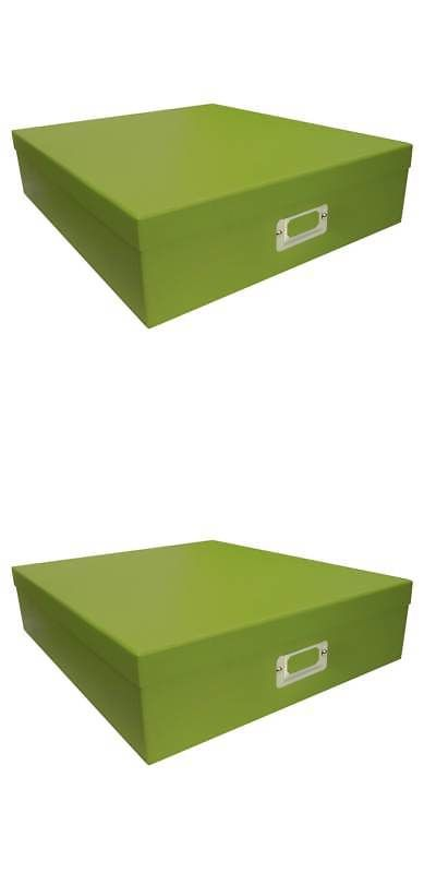 Photo Organizers 146399 Pioneer Photo Albums Sage Green Scrapbooking Storage Box (Set Of 6  sc 1 st  Pinterest & Photo Organizers 146399: Pioneer Photo Albums Sage Green ...