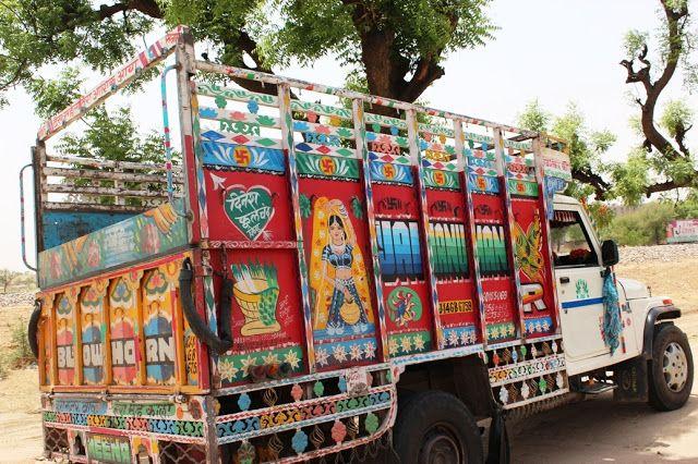 Truck Art In India I Love It Truck Art Pakistani Art Art