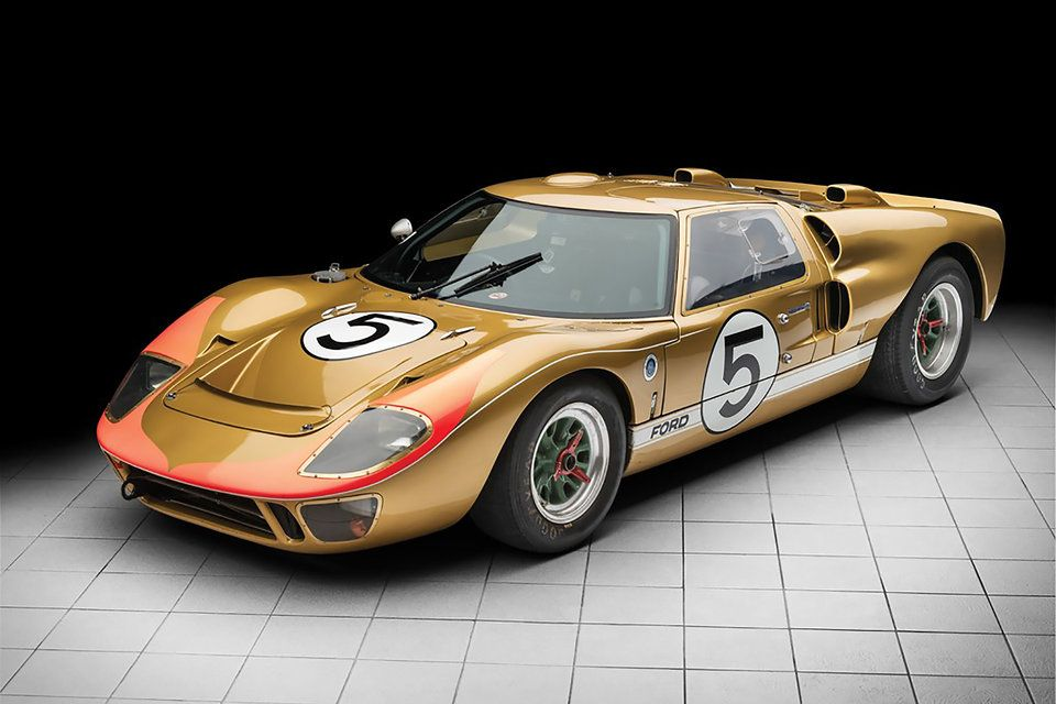 1966 Ford Gt40 Le Mans Ford Gt40 Ford Gt Ford Classic Cars