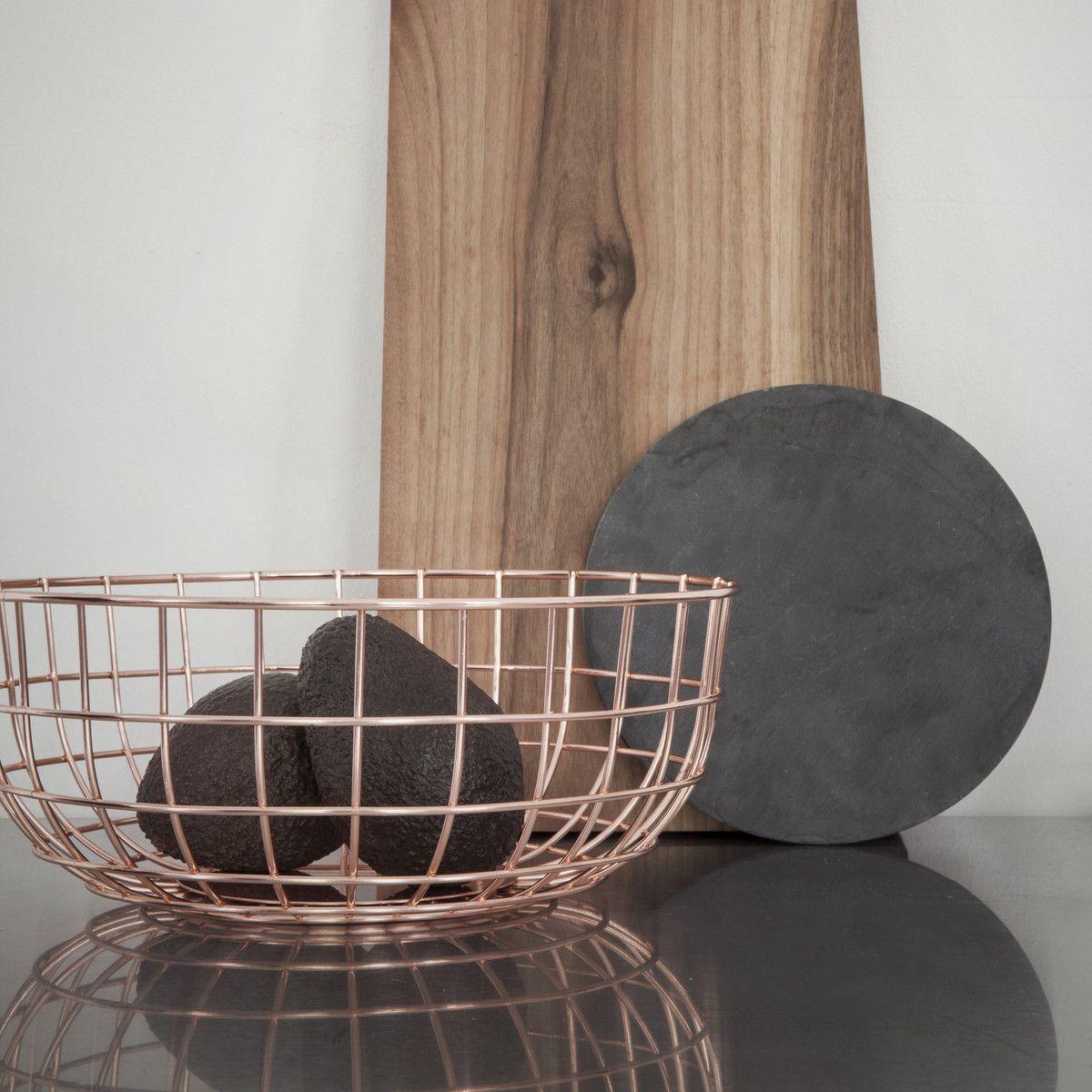 Wohndesign bilder mit shop menu  norm wire bowl schwarz  bowls interiors and kitchens