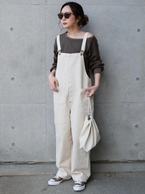 楽ちん 着映えが叶う 2019年夏の人気サロペットコーデ 韓国スタイル ファッションアイデア オーバーオール ファッション
