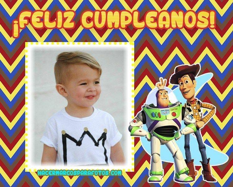 Feliz Cumpleanos Woody Y Buzz Lightyear Feliz Cumpleaños