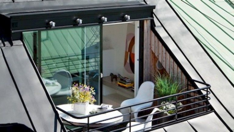45 Clever And Creative Idea For Attic Terrace Designs Page 22 Of 46 Terrace Design Balcony Design Attic Design