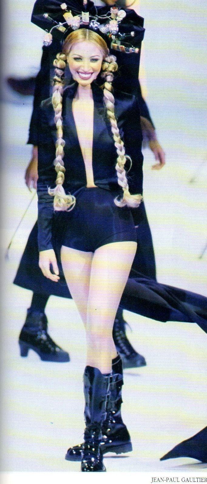 Christy Turlington: Jean Paul Gaultier