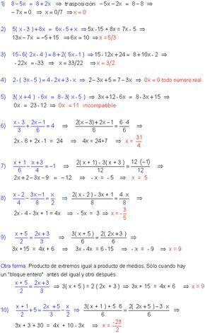 Ecuaciones Primer Grado Math Vocabulary Studying Math Math Charts