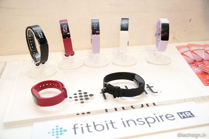 Đồng hồ Fitbit Inspire HR theo dõi sức khỏe