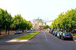 Die Ebertstraße ist eine nach dem Politiker Friedrich Ebert benannte vierstreifige Hauptverkehrsstraße im Berliner Bezirk Mitte.