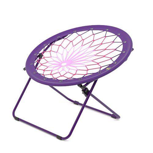 Bunjo Chair Large Purple Chair Bungee Chair Retro Room