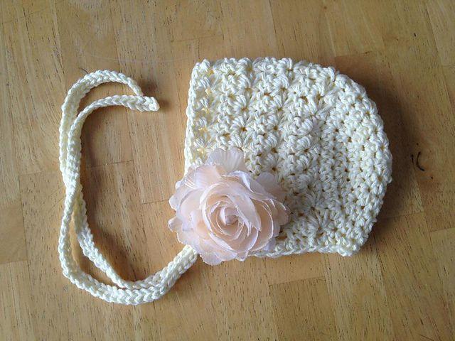 Vintage Star Baby Bonnet pattern by Crochet by Jennifer | Pinterest ...