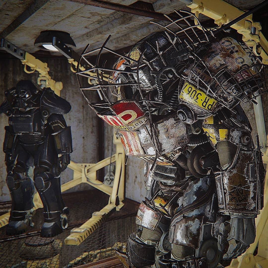 junk raider power armor fallout fallout4 gaming powerarmor jun