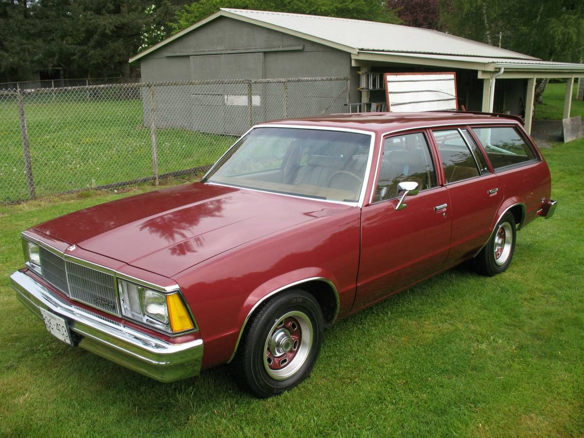 One Of 60 3 Speed Manuals Preserved 1980 Chevrolet Malibu Wagon