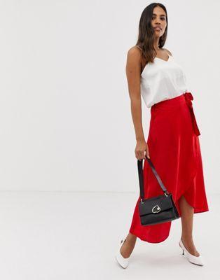Vila Wrap Skirt