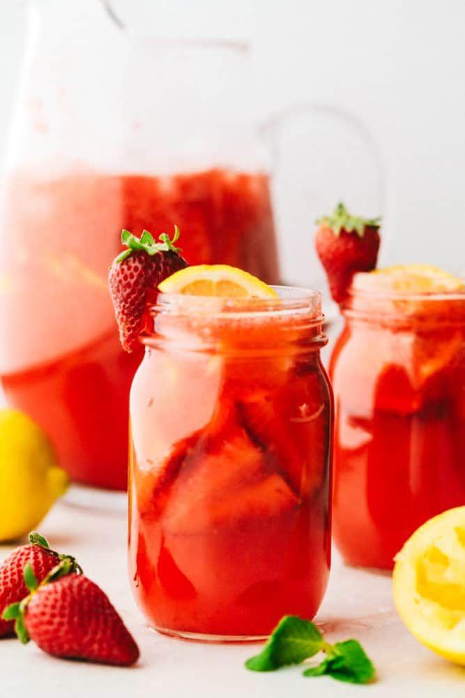 Homemade Strawberry Lemonade Recipe | The Recipe Critic