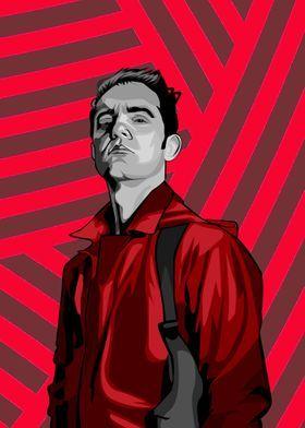 'La casa de papel Berlin' Poster by PAUL DRAW   Di