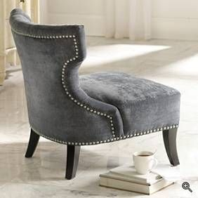 tufted nailhead chair dining covers target again the trim h o m e pinterest furniture