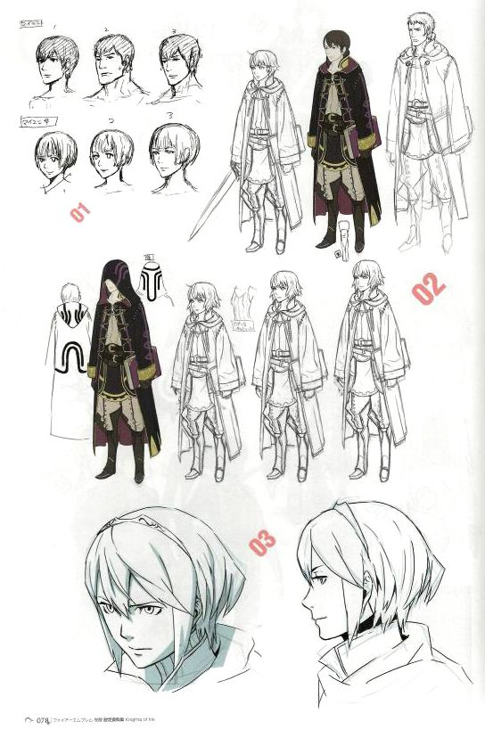 The Art Of Character Design Pdf : Fire emblem awakening concept art character design