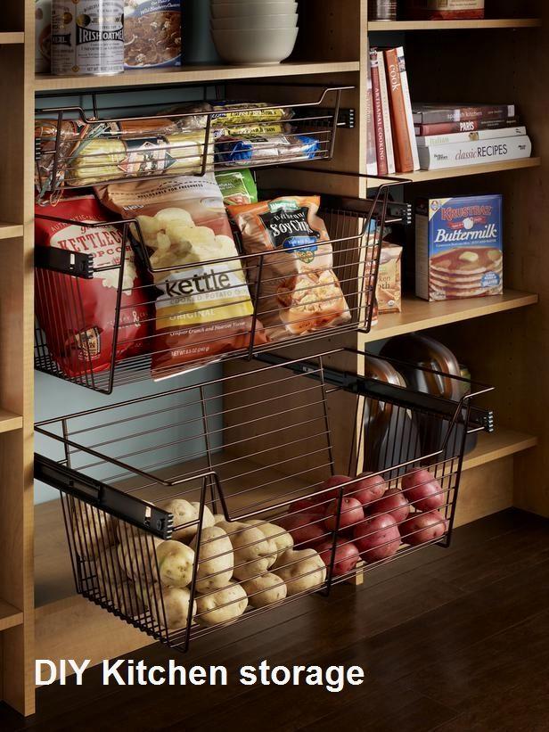 New Diy Kitchen Storage Ideas, Kitchen Cabinet Interior Shelves