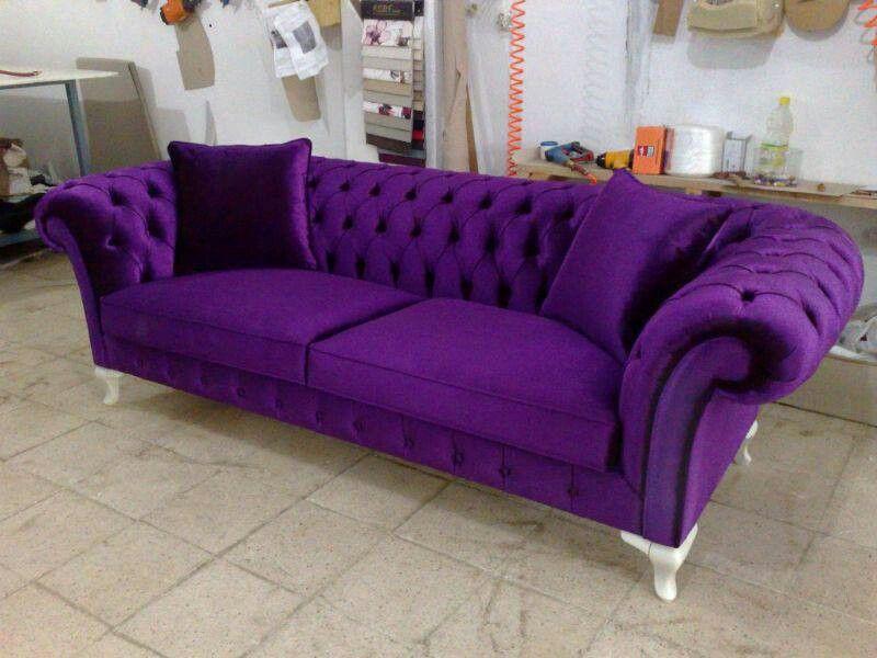 Purple Purple Sofa Purple Furniture Purple Living Room
