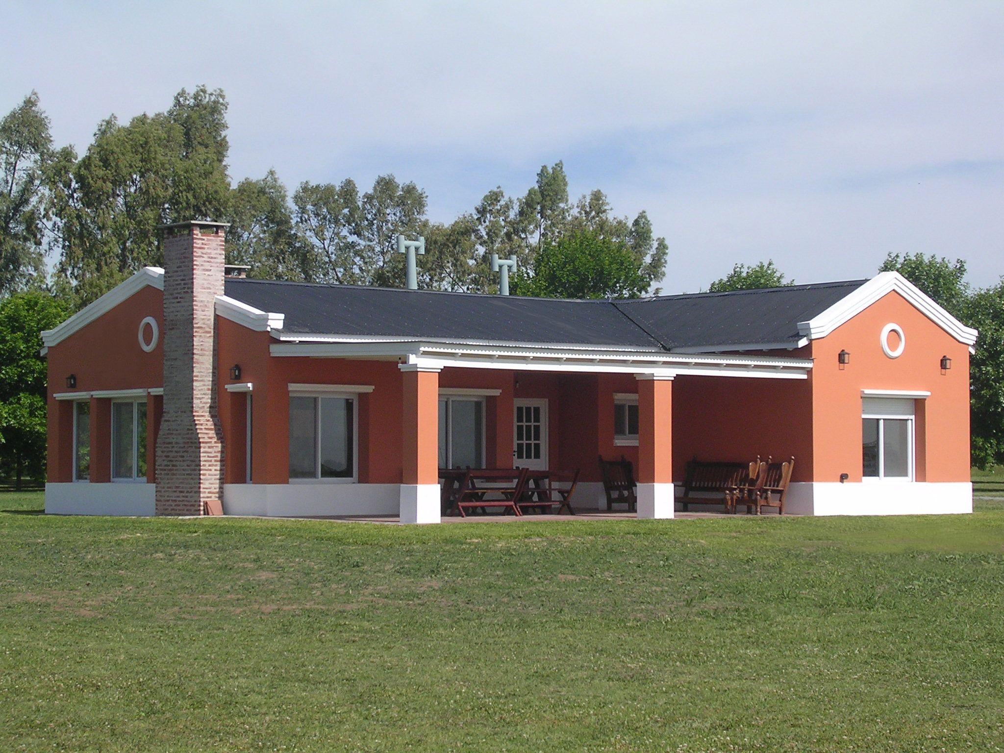 Verellen hnos arquitectura casas de campo pinterest for Planos de casas de campo modernas