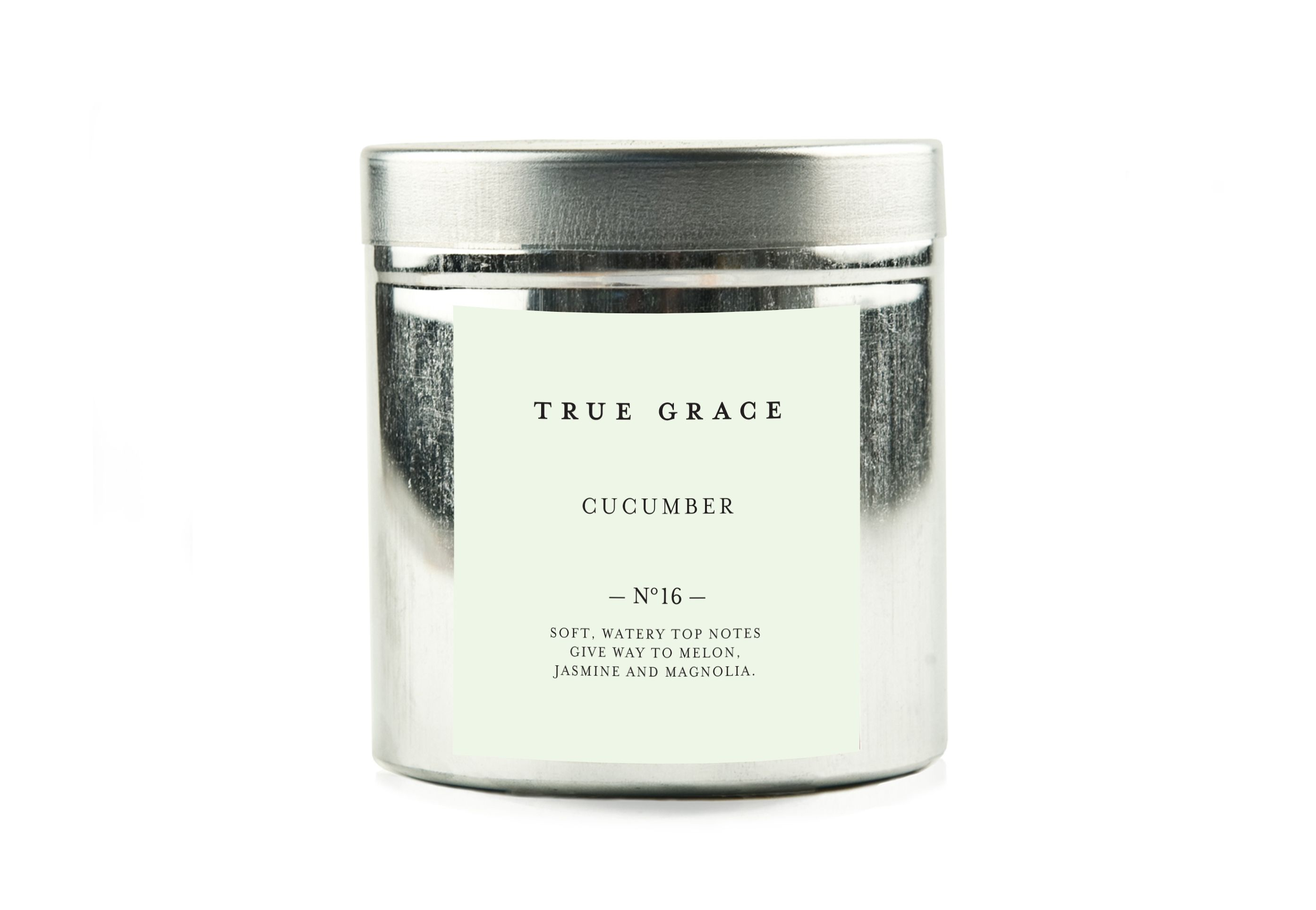 This beautiful fragranced candle is handmade in the UK and