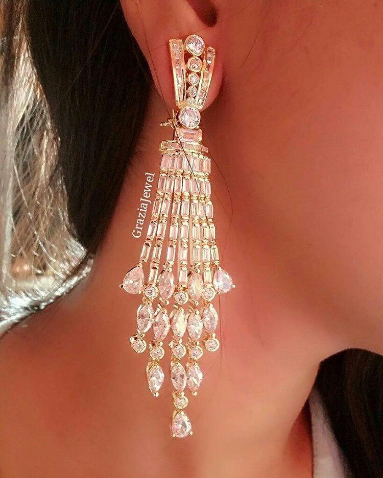 At Graziajewel Earrings Collection Real Diamond Earrings