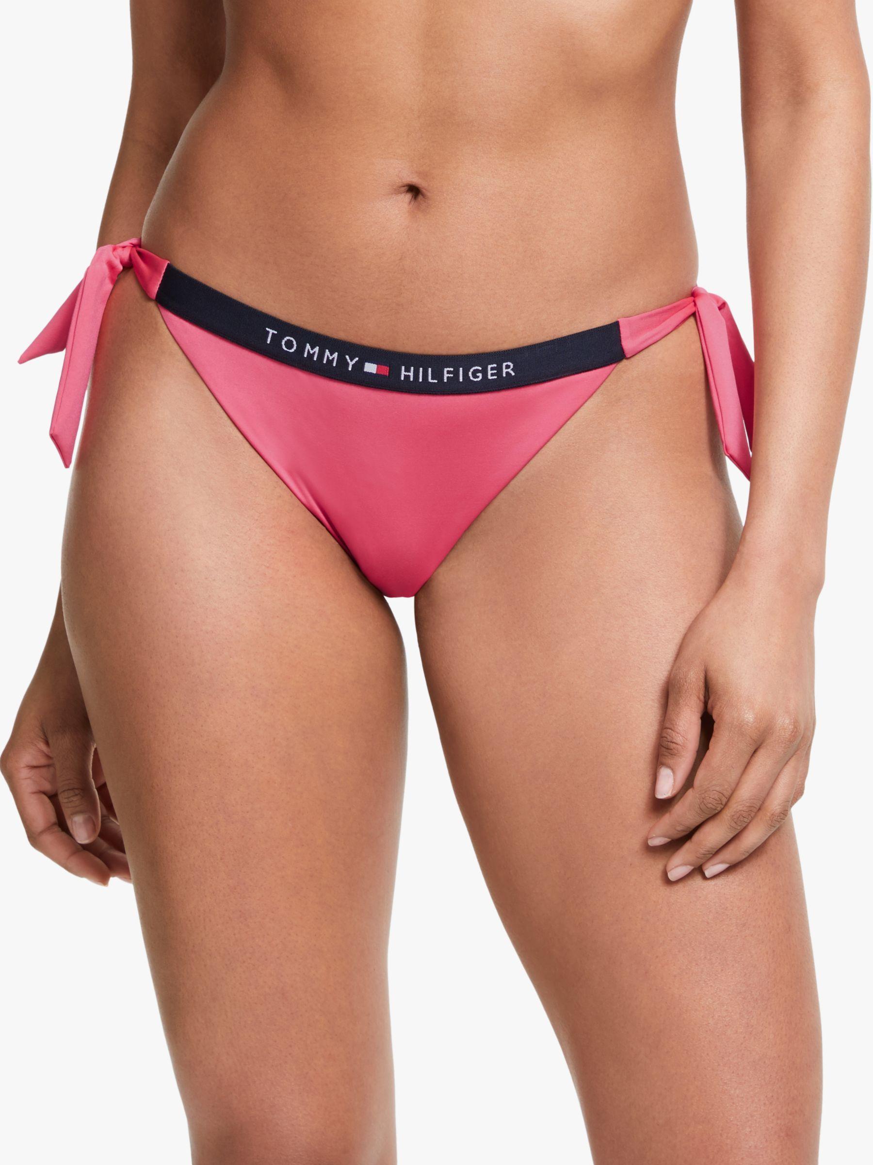Tommy Hilfiger Womens Side Tie Bikini Bottoms
