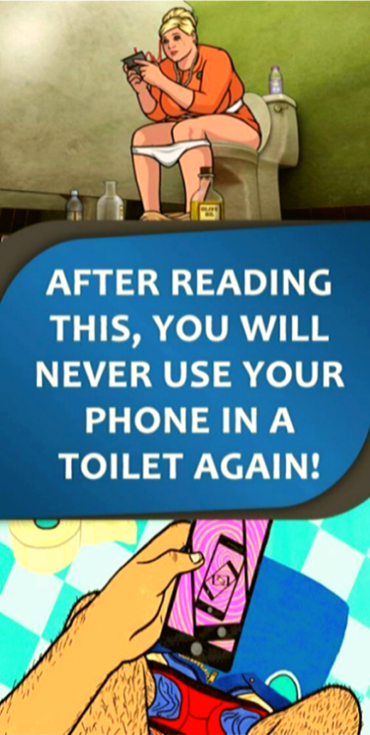 After Reading This, You Will Never Use Your Phone In a Toilet Again !