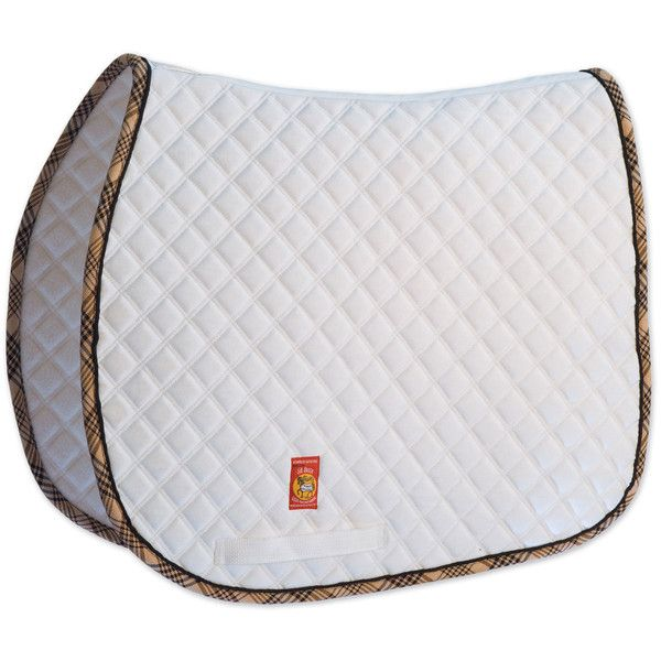 Lettia Collection Baker All Purpose Saddle Pad ($53) ❤ liked on Polyvore featuring saddle pads