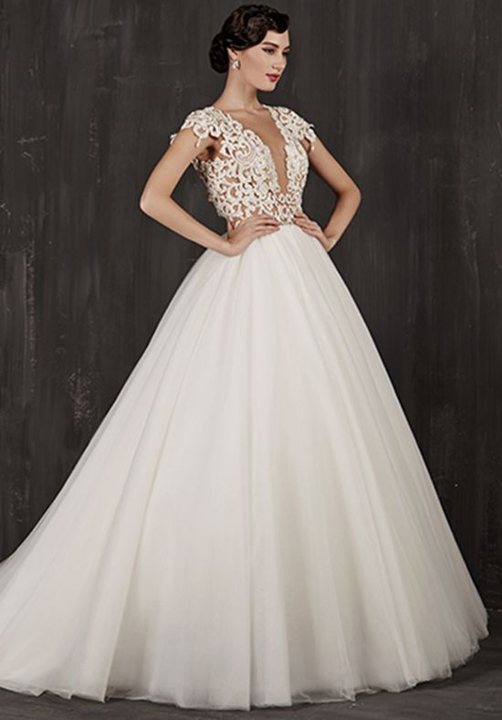 18914d3099ad3 Calla Blanche 16108 Elise Ball Gown Wedding Dress | All I Need is ...
