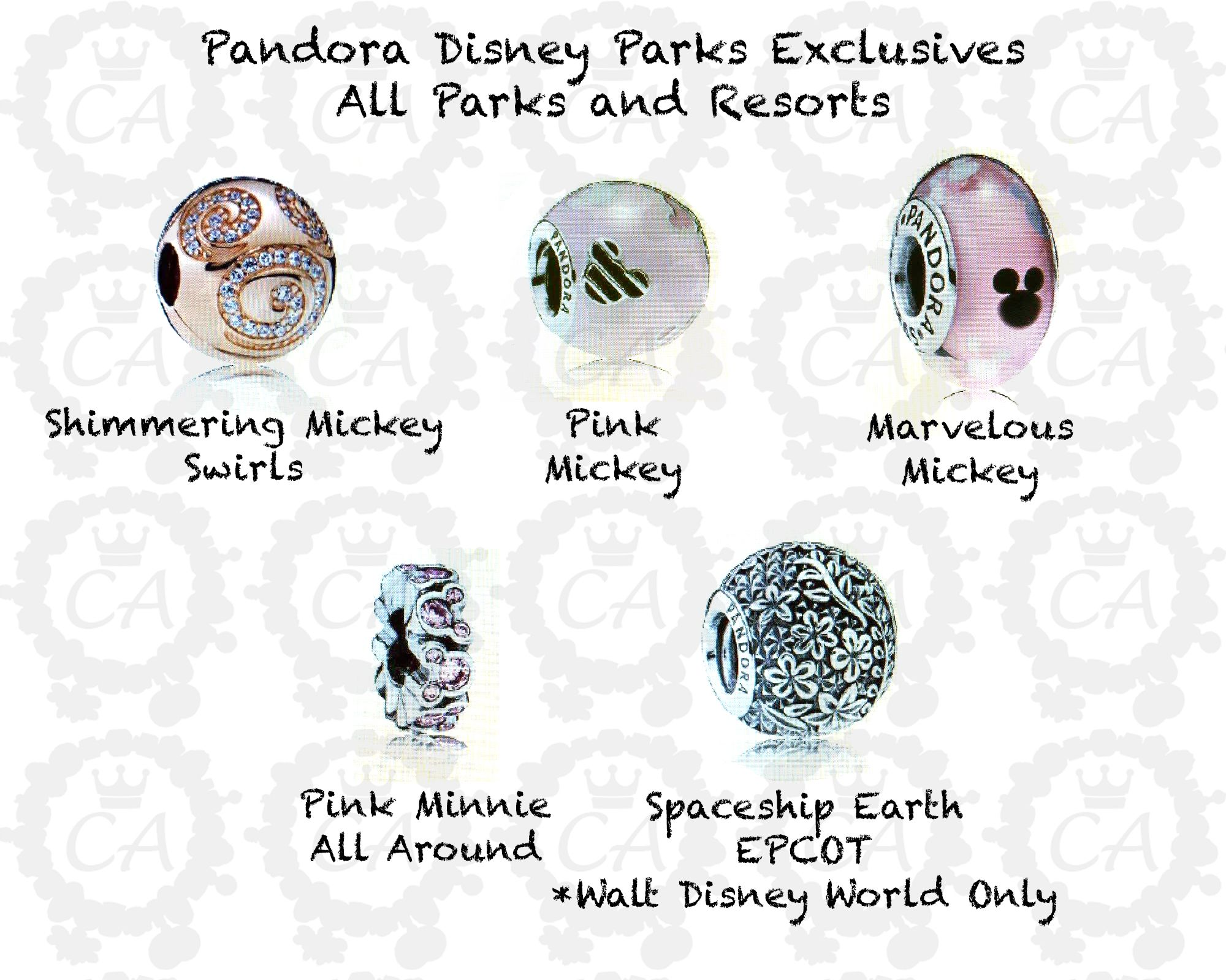 db56ad622 New Pandora Disney Parks Exclusive Spring/Summer 2016 Preview ...