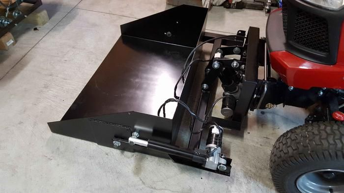 Linear Actuator Lawn Tractor : Ironton linear actuator volt in stroke atv