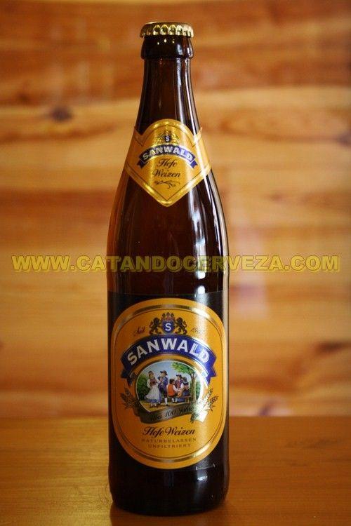 Cerveza Sanwald Weizen Cerveza Alemana De Trigo Turbia Cerveza