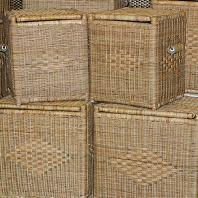 Use storage baskets in your crawl space.