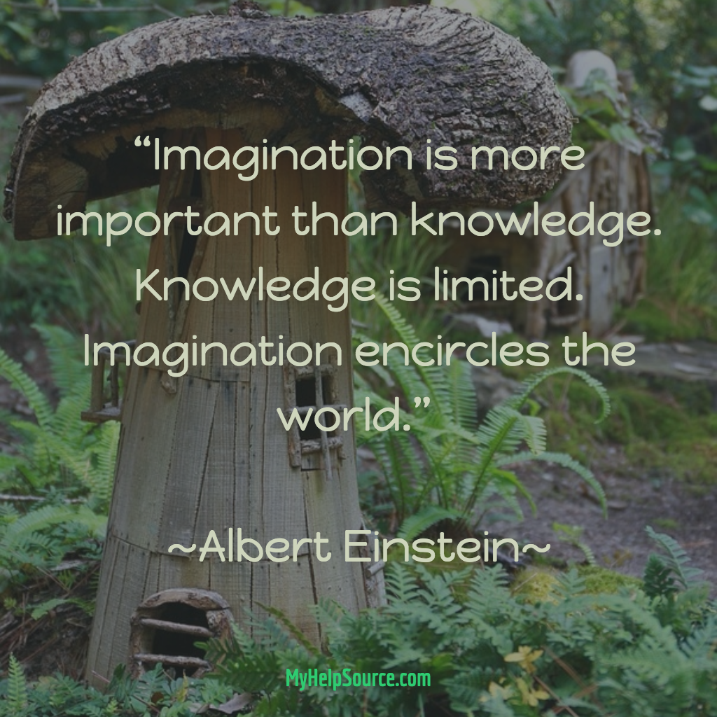 Imagination Is More Important Than Knowledge Knowledge Is Limited Imagination Encircles The World Albert Einstein