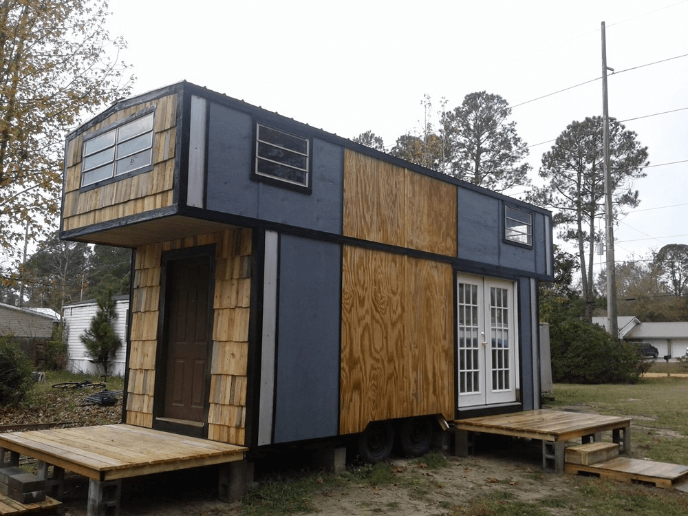 Double Loft Outback Used Tiny House On Wheels For Sale Tiny House Tiny Houses For Sale Tiny House On Wheels