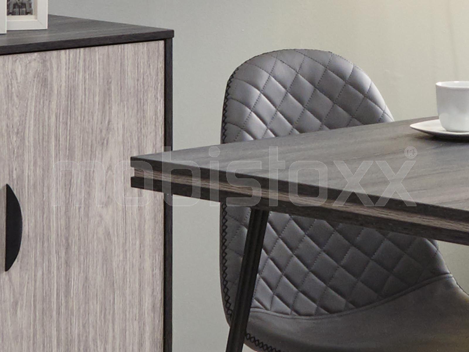 Table Repas Rectangulaire Eclat 160 Cm Chene Cendre Chene Grise Table Repas Mobilier De Salon Et Decoration Maison