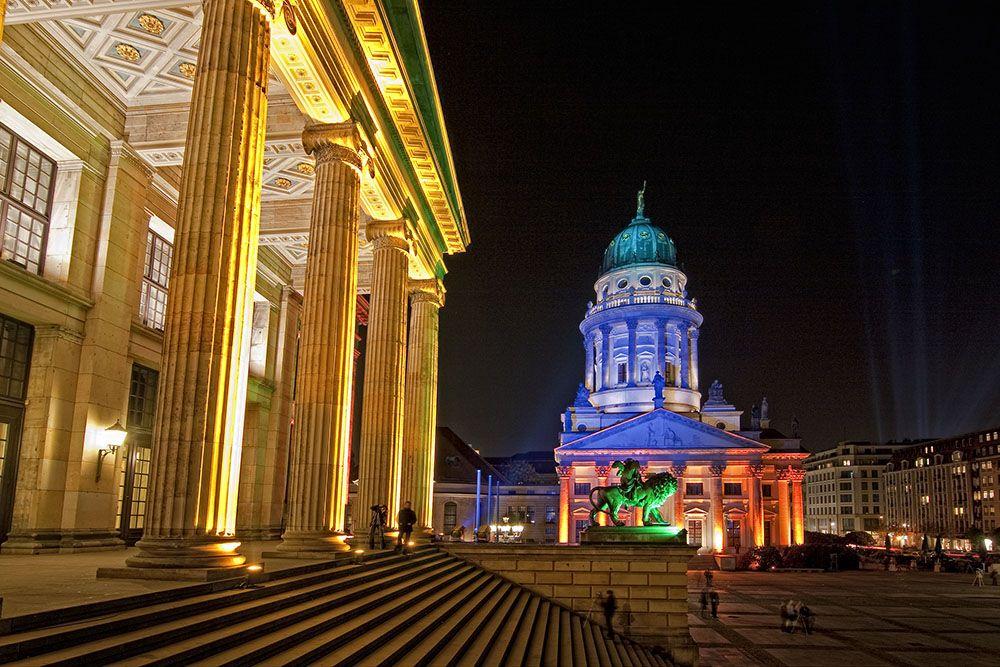 Gendarmenmarkt Festival Of Lights In Berlin Festival Of Lights Berlin Berlin Orte