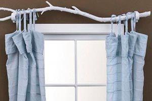 Palo Para Cortinas Recicladas Branch Curtain Rods Curtain Rods Curtains