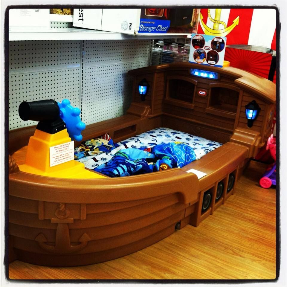 Little Tikes Pirate Ship Toddler Bed Cooper Pinterest