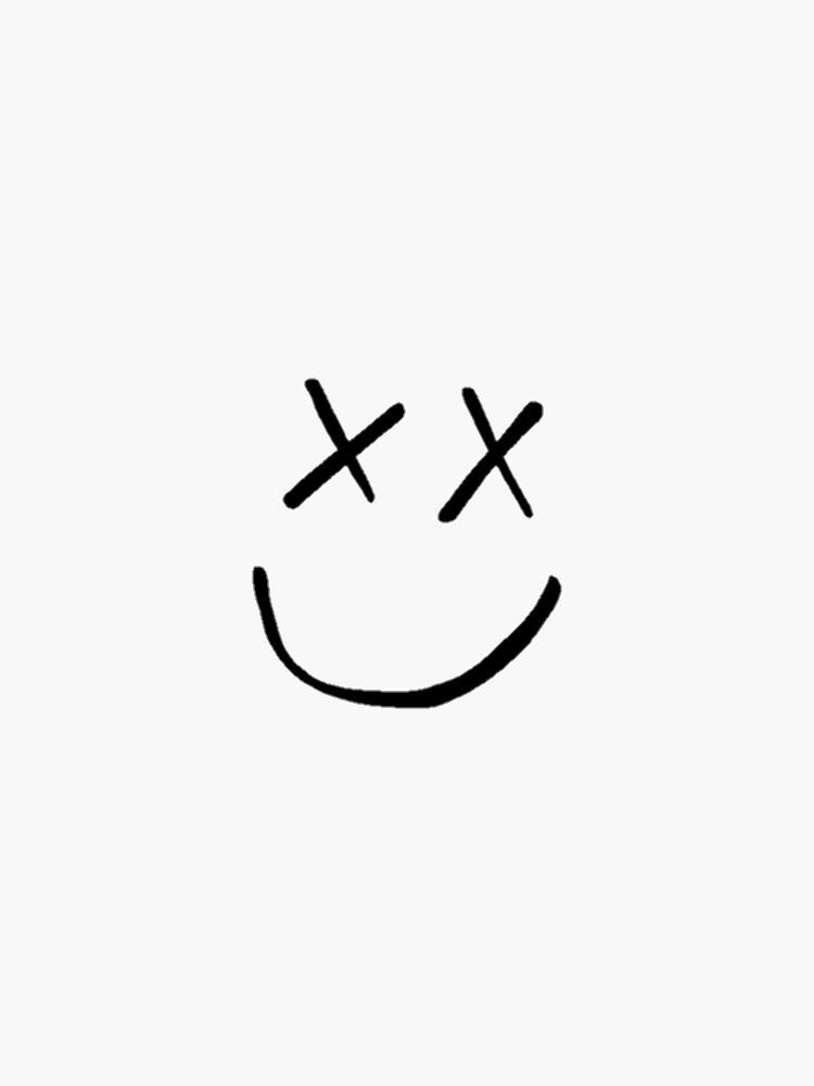 Louis X Smiley Sticker By Kinglwtontour Harry Styles Tattoos One Direction Tattoos Smiley Face Tattoo