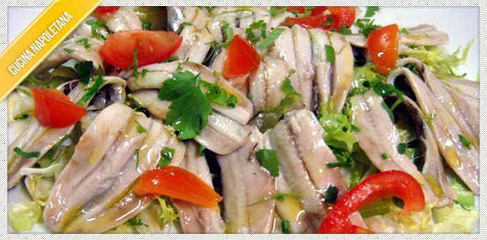 Ricetta alici marinate cucinare alla napoletana for Cucinare e congelare