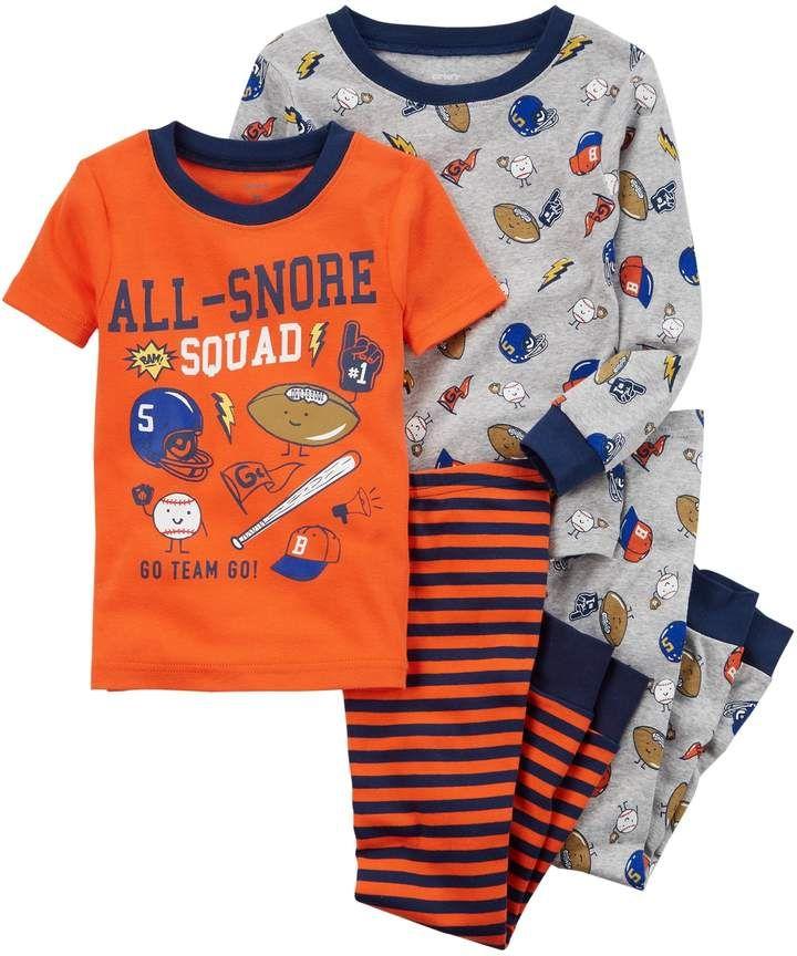 7fef2a554e7c Carter s Toddler Boy 4-pc. Pajamas Set