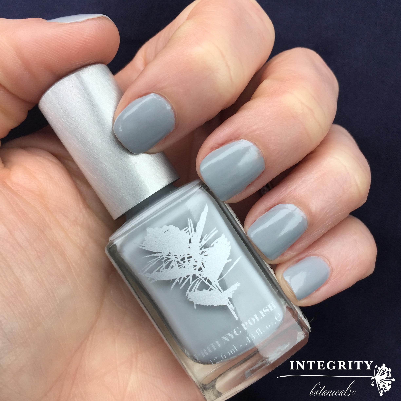 PritiNYC #nailpolish #grey #greynails #nails #cobwebhen ...