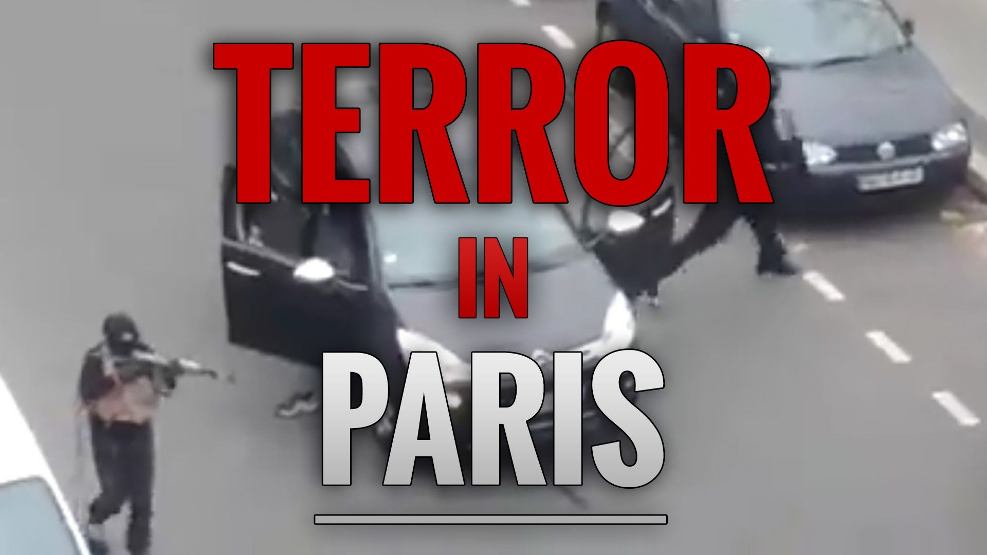 SHOCK! Terror in Paris Proves Violence Can't be Stopped