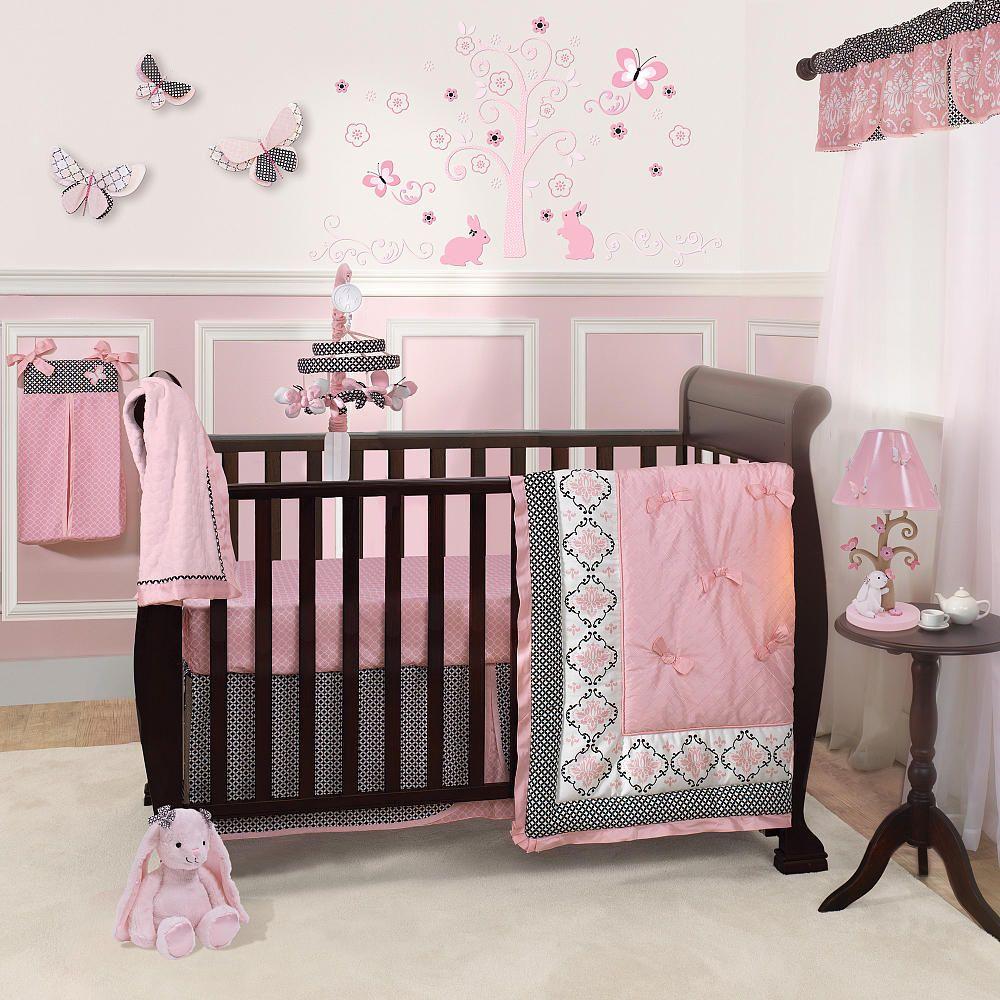 Baby Girl Nursery Bedding Sets | Better Baby Girl Crib Bedding Sets ...