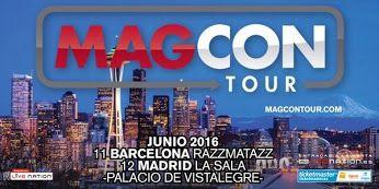 El #MagconTour ¡llega a España! ¿No te has enterado?¡Todos los detalles aquí! http://bit.ly/MagconEspaña #MagconEurope